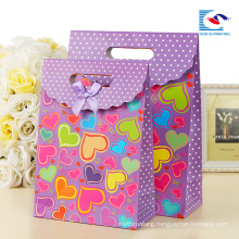recyclable paper bags custom print with own logo for lovers