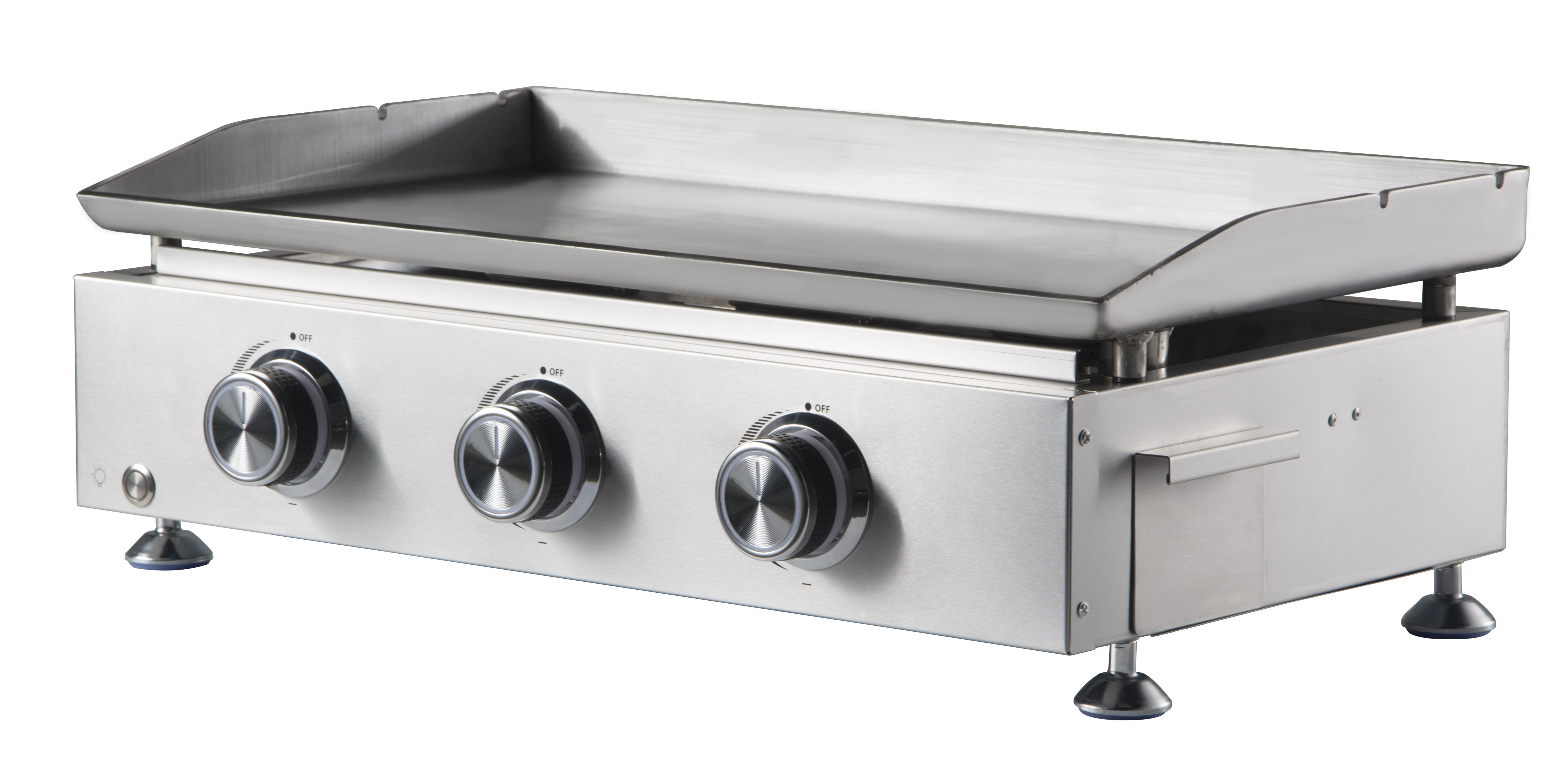3 Burner Stainless Steel Tabletop Grill