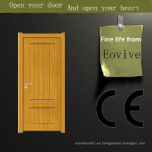 Todos los diseños de puerta de madera sólida de la pintura