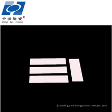 La mejor calidad de aislamiento eléctrico 96% al2o3 alúmina de cerámica sustratos hoja