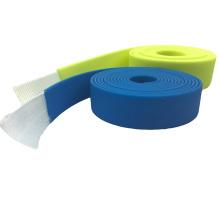 Sangles enduites de PVC de couleur assortie en plastique pour la ceinture