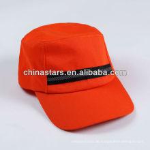 Hoch vis orange reflektierende Kappe