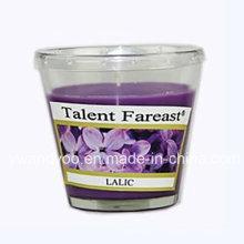 Bougie de soja parfumée Lalic en verre