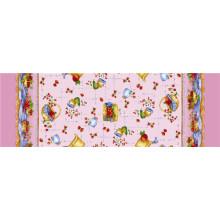 Много цветов Свадебный отель Домашний прямоугольник скатерть напечатанная PVC с Затыловкой (TJ0022)