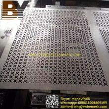 Maille métallique perforée en aluminium pour la décoration