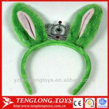 Costume plush brinquedo plush fox orelhas crown hairband