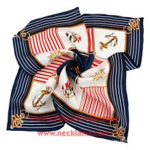 Venta al por mayor Twill Digital Printing Silk Scarves