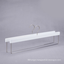 white color wooden display hanger for carpet/table clothes