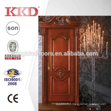 Solid Wooden Door MD-522L with MDF Board