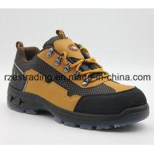 Calçados de segurança chinesa com tampão de aço do dedo do pé