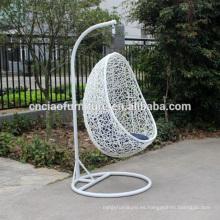 Silla de oscilación al aire libre de la rota del poliester del jardín