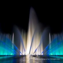 Outdoor Gas Explosion Dancing Musical Fountain