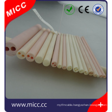 high temperature 1mm 2mm 3mm inside diameter Ceramic Insulator Single Hole
