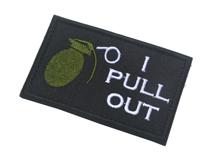 Bag Patch Embroidery