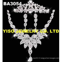 Dernier ensemble de bijoux de mariée pour le design le plus récent