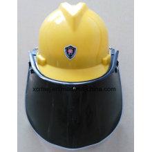 PC Visor Face Shield für Sicherheitshelm, PVC Face Shield Visor, Transparente Face Shield Visor, Green Face Shield Visor