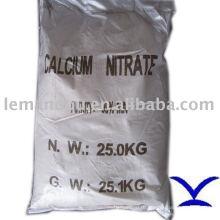 Белый кристаллический нитрат кальция