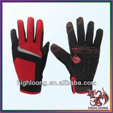 Großhandel Langlebige Polyester Winddichte Einstellbare Radfahren Handschuhe