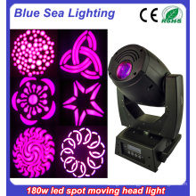 China Stage Lighting 180W Led Spot Moving Head