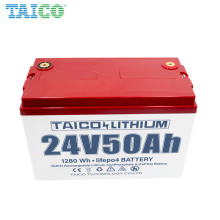Customizable Battery for Industrial UPS Energy Storage System 24V 50ah battery
