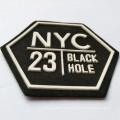 Custom Thicken Heat Transfer Garment Label 3d silicion logo for Iron On Cloth Sticker