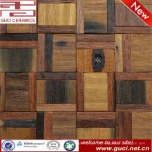 300x300 gemischte Massivholzbodenfliese im Mosaikfliesendesign