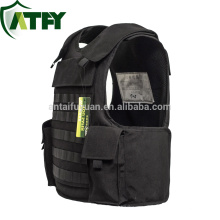 Black color Kevlar Molle Bulletproof vest