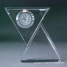 Horloge de table en verre Moder Crystal
