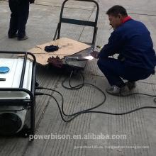 BISON CHINA Taizhou 1.8kw beweglicher Dieselschweißgenerator mit Rädern