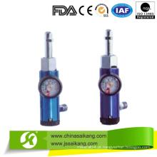 Regulador Médico de Oxigênio de Alumínio (CE / FDA / ISO)