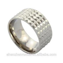 Formal diseño 2015 de acero inoxidable IP oro / oro rosa hombres de moda anillo