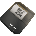 Imprimante de code QR thermique portable 58 mm Bluetooth