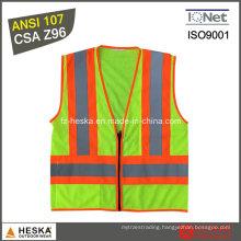 Hivis Yellow Cheap Reflective En471 Safety Vest
