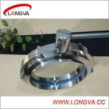 Нержавеющая сталь 10-дюймовый сварной клапан-бабочка