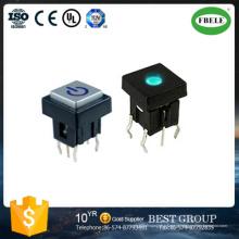 Interruptor Iluminado Interruptor Micro 10 * 10mm (FBELE)