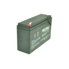 Pilha de bateria do armazenamento da bateria acidificada ao chumbo 6V VRLA de PKCELL 6V 12Ah SLA