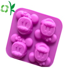 Silikon 4Holes MInnie Mouse New Arrival Sabun Mold