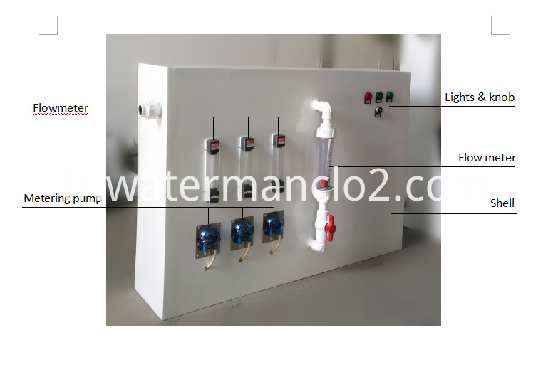 Compact Chlorine Dioxide Generating System CPF-S1000