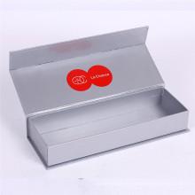 Boîte à cadeau de présentation de papier de carte d'argent magnétique