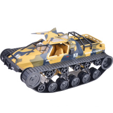 Hot Sale 1/12 High-speed drift RC Control Toy Tank Car 360 Rotation easy climbing powerful colorful Tank