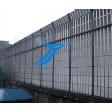 Séries de barrières acoustiques, pour les autoroutes, chemins de fer, rails légers, ponceaux, tunnels et autres moyens de transport