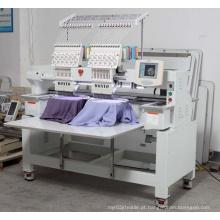 2 máquina industrial principal Wy1202c do bordado da costura