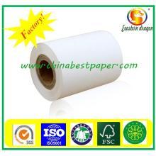 Rodillos de papel térmico preimpresos personalizados de alta calidad