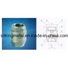 Aço Inoxidável CF8 2PC-Spring Válvulas de Retenção Vertical
