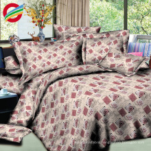 modern 100% cotton printed 3d bedding sheet for fabric