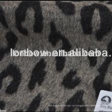 Оптовая супер тонкий шерстяное жаккард шерсть мериноса интерлок ткань для зимнего пальто
