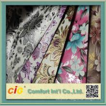 Gilding Floral Leather Vinyl Design