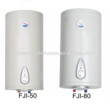 Caldera de agua doméstica eléctrica de 80 litros con el termómetro
