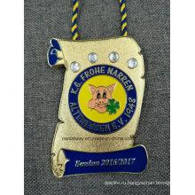 Высокое качество сувенир медаль металла эмали 3Д