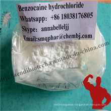 99% Purity Local Anesthetic Drug Benzocaine Hydrochloride 200mesh Safely Pass UK Custom